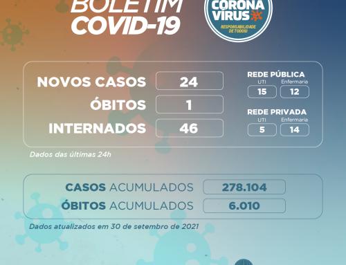Boletim COVID-19 – 30.09.2021