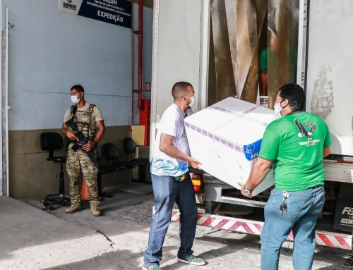 Sergipe recebe novas remessas de imunizante contra a Covid-19