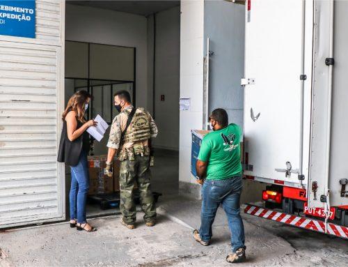 Sergipe recebe mais de 127 mil doses da Pfizer nesta terça-feira